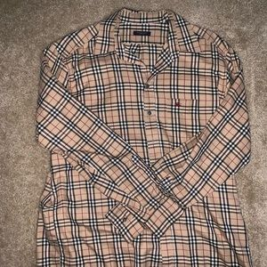 Burberry Blue label vintage check shirt.